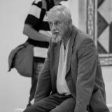 Eglės Ridikaitės tapybos parodos atidarymo akimirka. Domo Rimeikos nuotr.