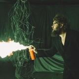 3FREE pristatymas: tarptautinės menininkų grupės NON GRATA performansas. Domo Rimeikos nuotr.