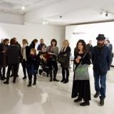 """Gruzijos šiuolaikinio meno parodos """"Spying Future / Spėjant ateitį"""" atidarymo akimirkos. Nerijaus Jankausko nuotr."""