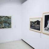 """Parodos """"Medžio raižinio efektas"""" ekspozicijos fragmentas. Nerijaus Jankausko nuotr."""