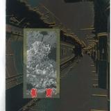 Shinsuke Minegishi. Dėžėje: rėmelis. 2011, popierius, medžio raižinys, 38 x 28