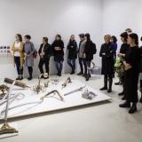 """Romualdo Inčirausko kūrybos paroda """"Skulptūra. Tapyba. Tarytum juvelyrika"""". Nerijaus Jankausko nuotr."""