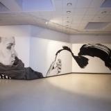 """Tado Vincaičio parodos """"Nuo gatvės iki galerijos"""" ekspozicijos fragmentas. Nerijaus Jankausko nuotr."""