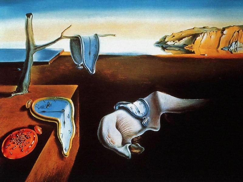 """""""Atminties pastovumas"""". Salvadoras Dali, 1931 m."""