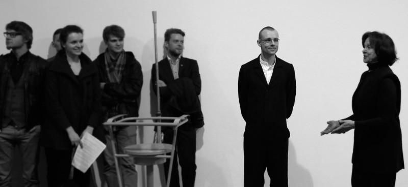 Julijono Urbono parodos atidarymas. Gyčio Skudžinsko nuotr.