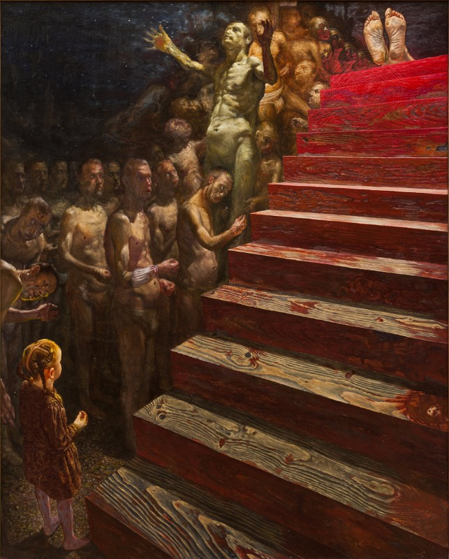 S. Sauka. Laiptai. 1989