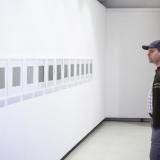 """Parodos """"Išlaukti vaizdai"""" atidarymas. Remigijaus Treigio ciklas """"Žiemos dienoraštis"""" (fotografija, 2017–2018 m.). Nerijaus Jankausko nuotr."""