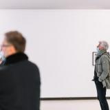 """Arvydo Palevičiaus parodos """"Tarp fizikos ir metafizikos"""" pristatymas. Domo Rimeikos nuotr."""