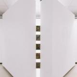 """Arvydo Palevičiaus parodos """"Tarp fizikos ir metafizikos"""" ekspozicijos fragmentas. Domo Rimeikos nuotr."""