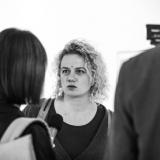 Fotografijos šventėje. Klaipėdos kultūros skyriaus vedėja Eglė Deltuvaitė. Virgilijaus Skuodo nuotr.