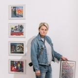 """Eksponuojama Juditos Liaudanskaitės fotografijų paroda """"Žvilgsnis į San Fransiską"""". Domo Rimeikos nuotr."""