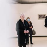 """Juditos Liaudanskaitės fotografijų parodos """"Žvilgsnis į San Fransiską"""" pristatymas. Domo Rimeikos nuotr."""