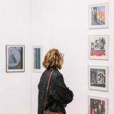 """Juditos Liaudanskaitės fotografijų parodos """"Žvilgsnis į San Fransiską"""" ekspozicijos fragmentas. Domo Rimeikos nuotr."""