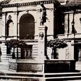 Teatro centrinis rizalitas. XX a. pr. Vilniaus regioninio valstybės archyvo nuotr.