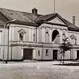 Teatro bendras vaizdas. XX. II pusė. Vilniaus regioninio valstybės archyvo nuotr.