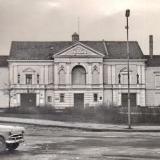 Klaipėdos dramos teatras. Pagrindinis fasadas. 1975 m. Vilniaus regioninio valstybės archyvo nuotr.