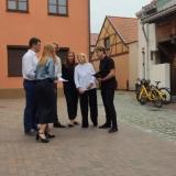 GŠ ansamblis ir kultūros diplomatė Liana Ruokytė-Jonsson. Agnės Tumšienės nuotr.