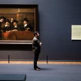 Nederland, Amsterdam, 24-04-2014. Nieuwe tentoonstelling Art Is Therapy – Alain de Botton & John Armstrong in het Rijksmuseum. Foto: Olivier Middendorp