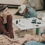 """Parodos """"Moterys mėnulyje"""" pristatymas. Pavelo Ochrimenkos nuotr."""
