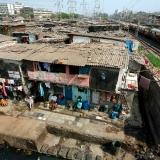 Dharavio lūšnynai Mumbajuje.
