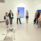 Ekskursija po Kinijos šiuolaikinio meno parodą. Donato Bielkausko nuotr.