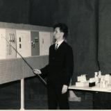 Dizaineris Kęstutis Ramonas gynimo metu