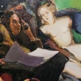 Andrius Zakarauskas. Reading brushstroke. 2018 m. (fragmentas). Domo Rimeikos nuotr.