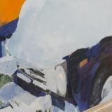 Vincentas Gečas. Žiemos miegas. 1982 m. (fragmentas). Domo Rimeikos nuotr.