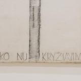 Leonas Linas Katinas. Nieko nukryžiavimas. 1997 m. (fragmentas). Domo Rimeikos nuotr.