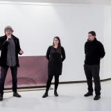 Iš kairės: Ignas Kazakevičius, Rosanda Sorakaitė ir Povilas Ramanauskas. Nerijaus Jankausko nuotr.