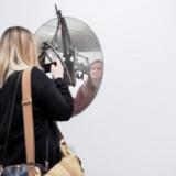 Povilo Ramanausko parodos pristatymas. Nerijaus Jankausko nuotr.