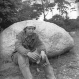 1982 m. skulptorė Ksenija Jaroševaitė. MLIM archyvas