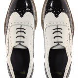 ASOS MARKY Mono Leather Lace Up Brogue