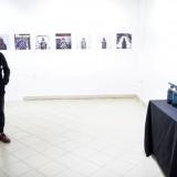Atidarant Tomo Tereko fotografijų parodą. Nerijaus Jankausko nuotr.
