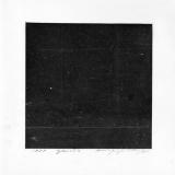 """Remigijus Treigys, iš ciklo """"Daiktai tamsoje, arba Fotografija apie nieką"""" (sidabro želatinos atspaudai ant popieriaus, 20 x 20). 1999 m."""