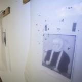 """Žygimanto Augustino parodos """"IN. 550"""" ekspozicijos fragmentas. Nerijaus Jankausko nuotr."""