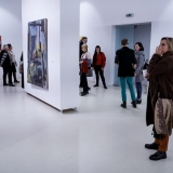"""Virginijaus Viningo parodos """"Trys dešimtmečiai"""" ekspozicijos fragmentas. Nerijaus Jankausko nuotr."""