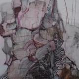 """Vitalija Petraitytė. """"Virsmas"""". 99x69 cm. Akvarelė, popierius."""