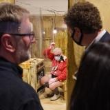"""Andrus Joonas, instaliacija """"Paminklas kapitalizmo aukoms"""". Donato Bielkausko nuotr."""