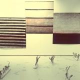 """Žanetos Jasaitytės-Bessonovos parodos """"Tarpininkavimo santykiai: mano kūnas tavyje"""" fragmentas Porte, galerijoje """"Serpente"""". Ž. Jasaitytės-Bessonovos nuotr."""