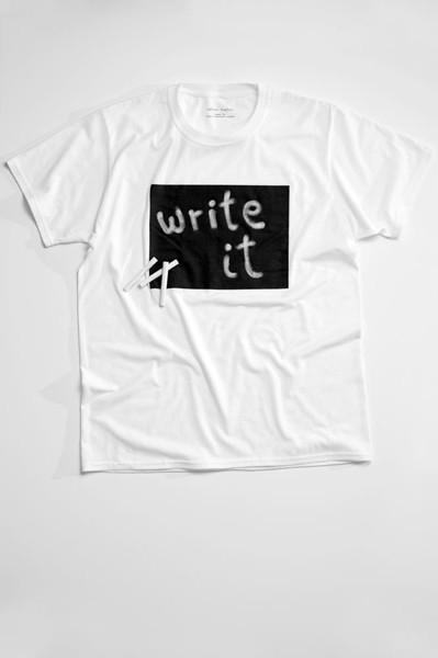"""Konservuoti rašomieji marškinėliai """"Cotton twitter"""""""