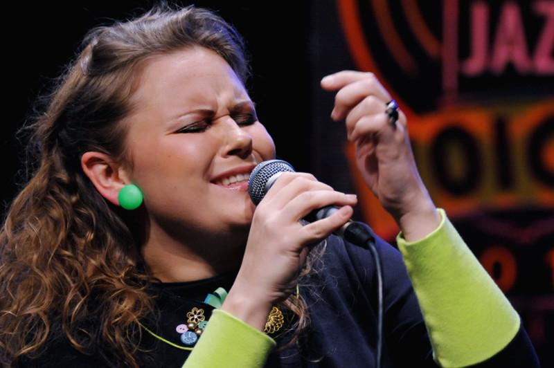 """""""Jazz Voices-2012"""" I vietos laimėtoja Laura Budreckytė. Algirdo Kubaičio nuotr."""
