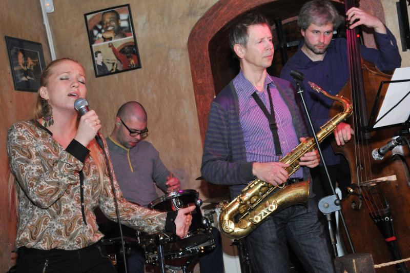 """""""Jazz Voices-2012"""" nacionalinės atrankos koncertas. Algirdo Kubaičio nuotr."""