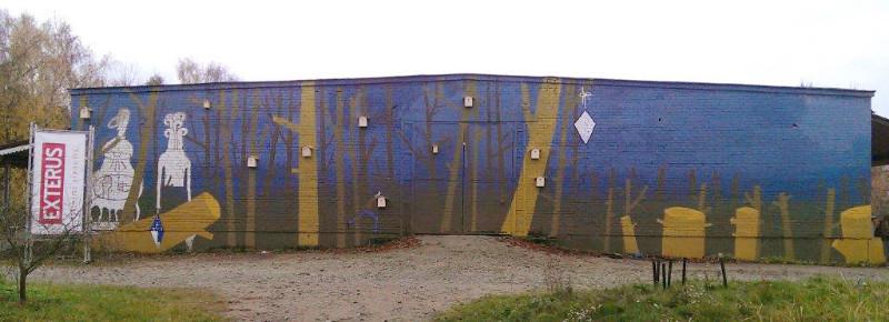 VDA Nidos meno kolonijos angaro siena