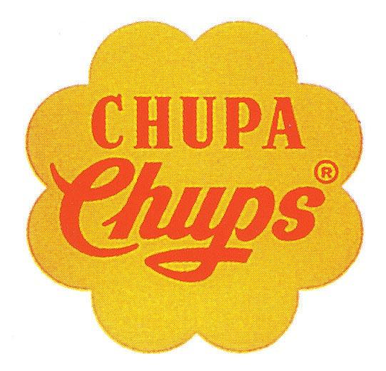 """""""Chupa Chups"""" saldainių logotipas. Autorius – Salvadoras Dali"""