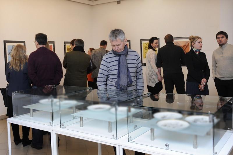 Salvadoro Dali kūrinių paroda sulaukia didelio publikos susidomėjimo. Algirdo Kubaičio nuotr.