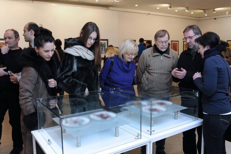 """S.Dali kūrinių parodoje """"Materialusis siurrealizmas"""" eksponuojama maždaug 100 siurrealizmo genijaus darbų iš privačios kolekcijos. Algirdo Kubaičio nuotr."""