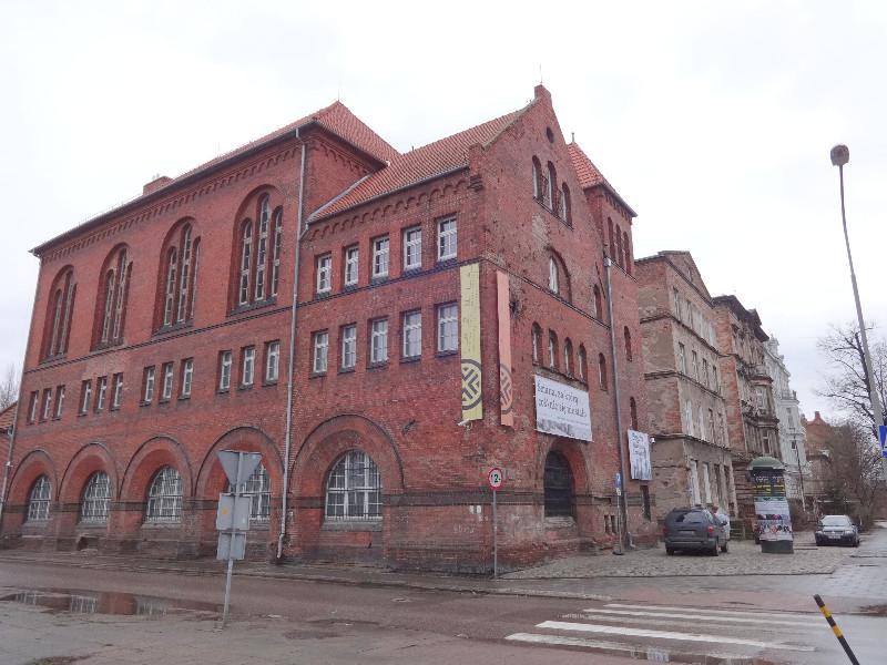 """Gdansko šiuolaikinių menų centras """"Łaznia"""" įsikūręs buvusioje viešojoje pirtyje"""