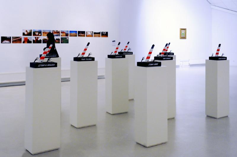 """KKKC Parodų rūmuose iki sausio 19 d. veikianti šiuolaikinio meno projekto """"Sakmės apie Baltiją"""" (""""Telling the Baltic"""") paroda menininkų iš Baltijos šalių sukurtus darbus. Algirdo Kubaičio nuotr."""