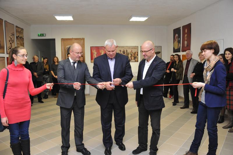VDA Klaipėdos fakultetas naujosiose patalpose senamiestyje oficialiai įsikūrė pernai rudenį. Algirdo Kubaičio nuotr.